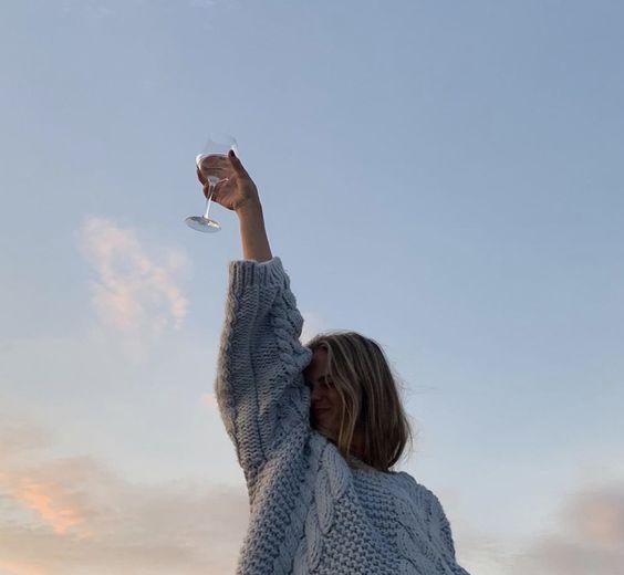 girl, inspiration, and sky image