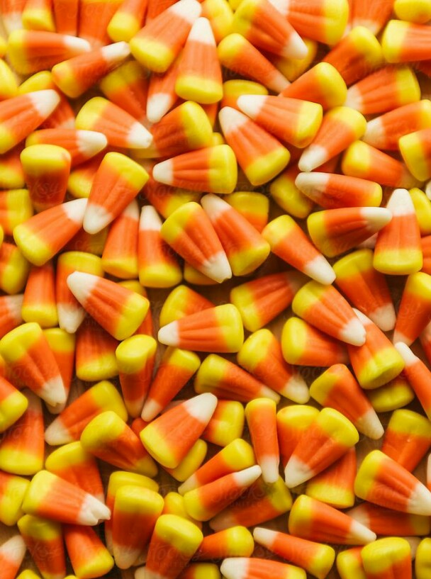 candy, Halloween, and candy corn image