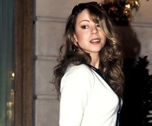 90s, Mariah Carey, and singer image