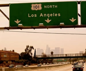 city, los angeles, and california image