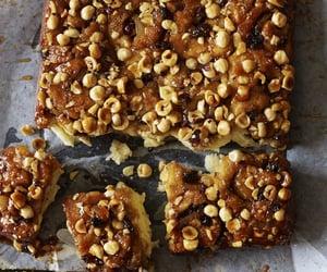 caramel, scone, and swirl bread image