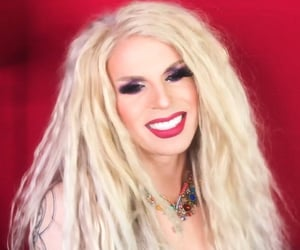 drag queen, katya, and red image