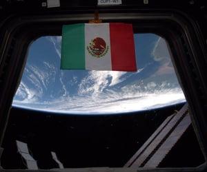 ISS, nasa, and méxico image