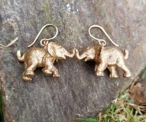 boho, etsy, and pagan earrings image
