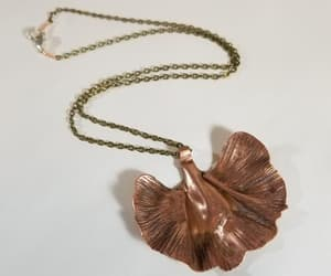 bohemian, etsy, and leaf necklace image