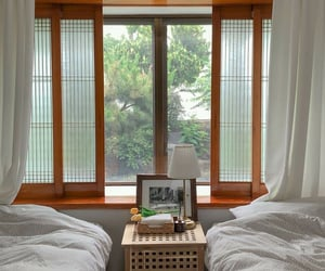 bedroom, calm, and design image