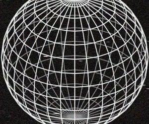 globe, icon, and black image