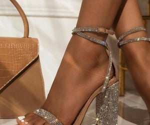 fancy, girl, and high heels image