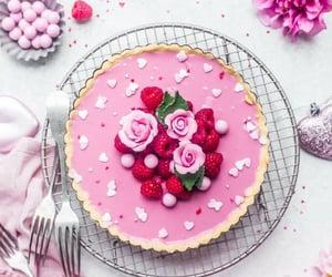 fresa, postre, and tarta image