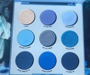 blue, eye makeup, and eyeshadow image