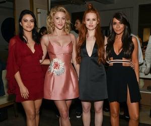 Camila Mendes, Lili Reinhart, Madelaine Petsch and Marisol Nichols