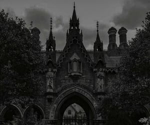 castle, aesthetic, and dark image