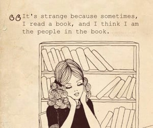 books, people, and reading image