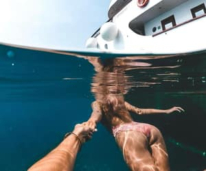 girl, couple, and summer image