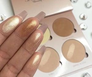 makeup, maquiagem, and iluminador image