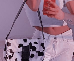 fashion, aesthetic, and cow image