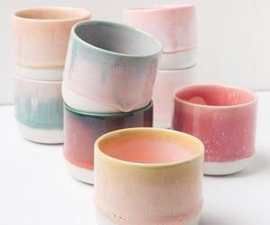 Ceramic, cute, and cups image
