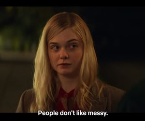 quote, all the bright places, and Elle Fanning image