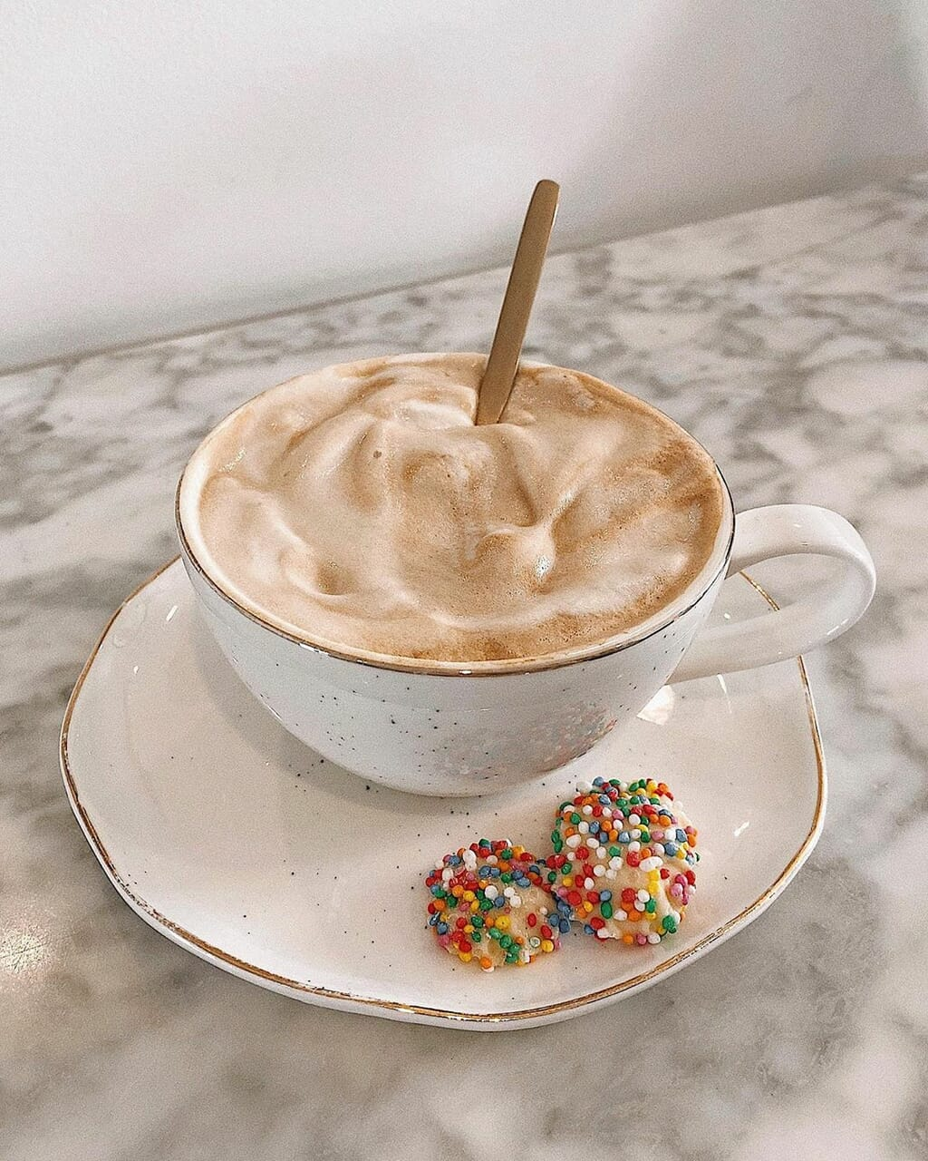 candy and coffee image