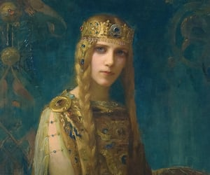 20th century, french art, and Isolde image