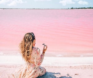 aesthetic, girl, and pastel image