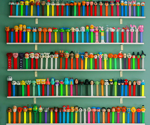 pez and colorful image