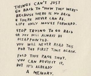 life, move forward, and memory image