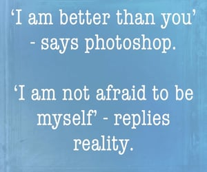 be yourself, photoshop, and quotes image