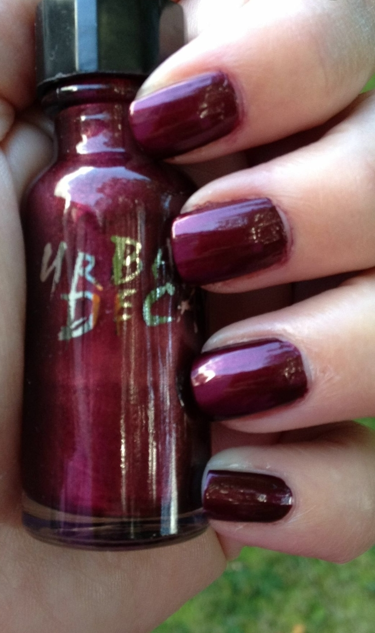 90's Urban Decay nail polish. Wish I could remember the color name.