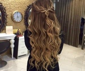chicas, hair, and girls image