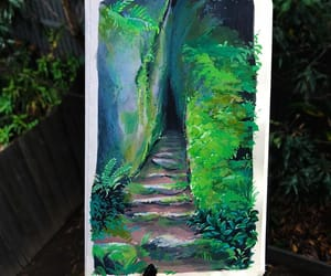 fairytale, rainforests, and landscapepainting image