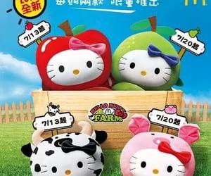 farm, hello kitty, and McDonalds image