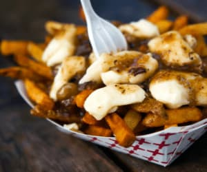 French Fries, gravy, and potato chips image