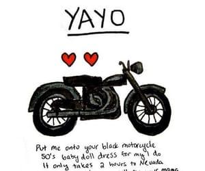 Lyrics, mama, and motorcycle image