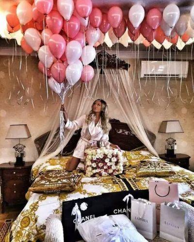 luxury, birthday, and balloons image