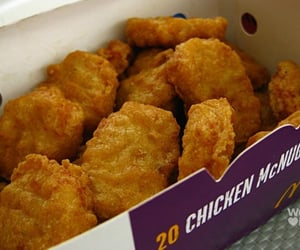 food, Chicken, and McDonalds image