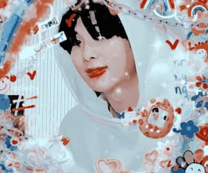 aesthetic, jin, and namjoon image