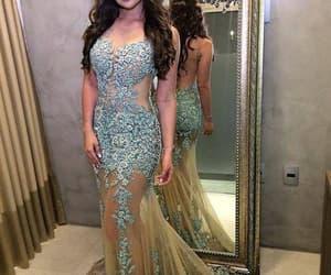mermaid evening dresses, modest evening dress, and blue evening dresses image