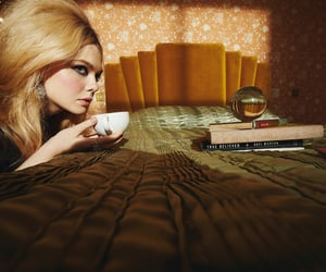 book, books, and Elle Fanning image
