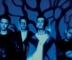 andy fletcher, dave gahan, and depeche mode image