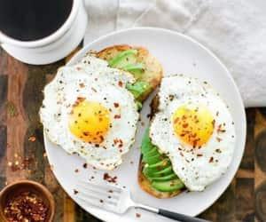 avocado, food, and foods image