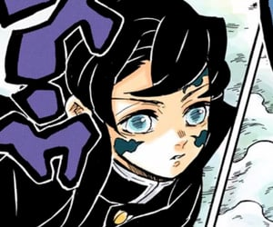 manga, demon slayer, and tokito image