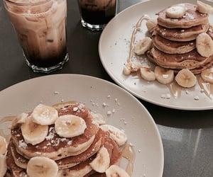 food, banana, and drink image