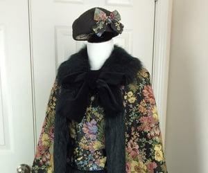 19th century, black, and dress image