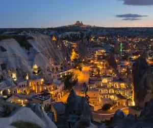 cappadocia, travel, and turkey image