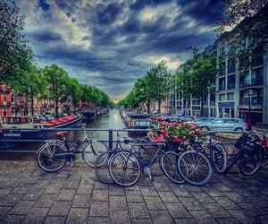 amsterdam, travel, and paisaje image
