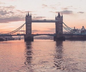 A Sunrise At Tower Bridge ; Golden Hour in London , It's Magical View !