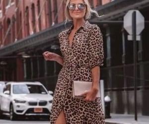 animal print, moda, and summer image