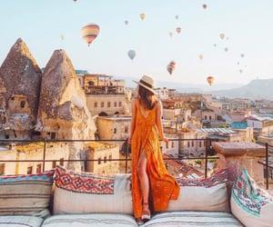 balloon, fashion, and model image