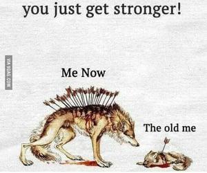 grow up, trauma, and love image